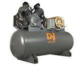 10HP Piston Air Compressor with Horizontal Tank