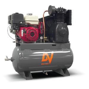 Industrial air compressors - gasoline powered compressor