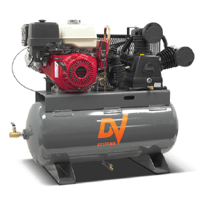 Industrial air compressors - gasoline powered standard duty