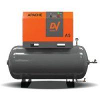 quiet 5 HP APACHE A5T rotary screw air compressor