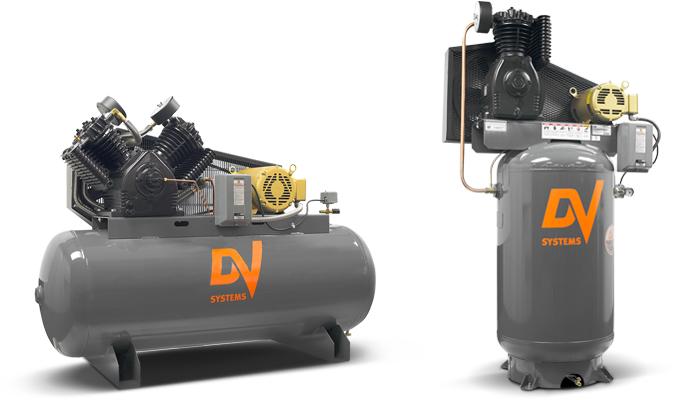 15hp HDI piston air compressor