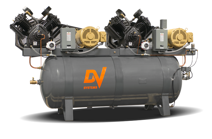 Duplex 5hp air compressor