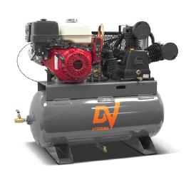 compresor industrial. industrial air compressor - gasoline powered compresor