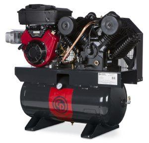 16hp gasoline powered air compressor